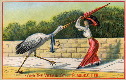 fighting-off-stork